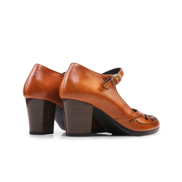 کفش رسمی 905 عسلی