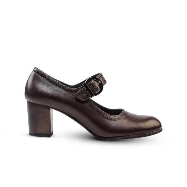 کفش رسمی 907 قهوه ای