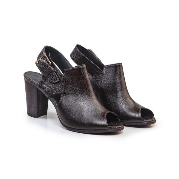 کفش زنانه رسمی 910 قهوه ای