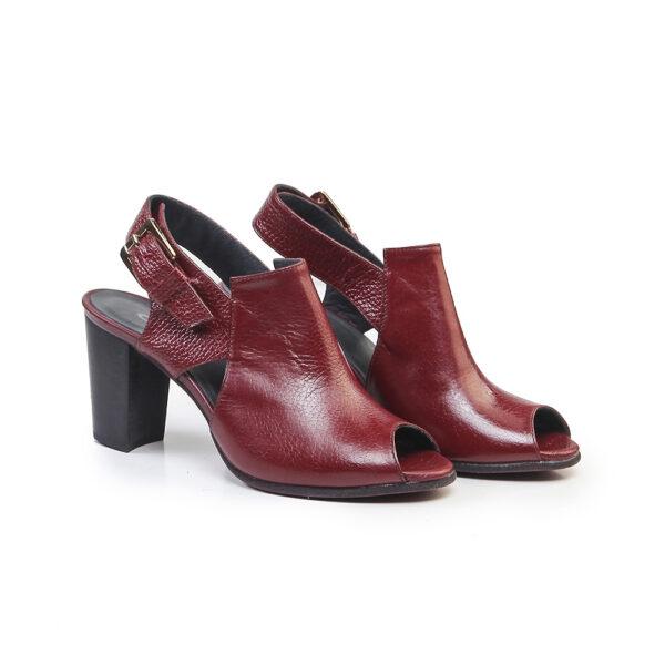 کفش زنانه رسمی 910 زرشکی