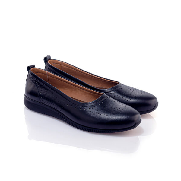 کفش کالج و راحتی مارینا مشکی