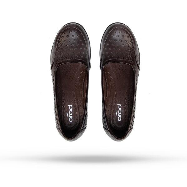 کفش زنانه A2002 قهوهای