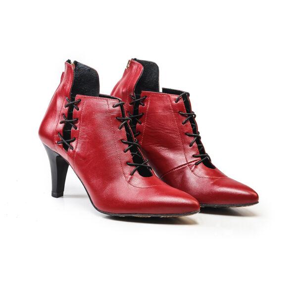 کفش رسمی زنانه A-8010 قرمز