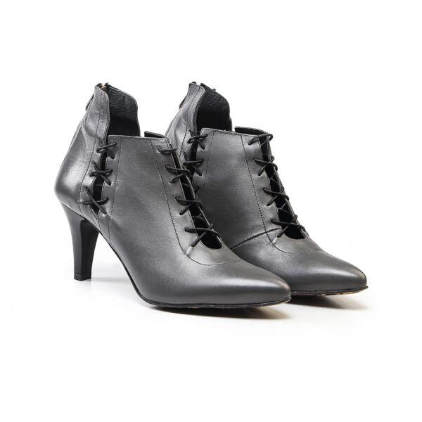 کفش رسمی زنانه A-8010 طوسی