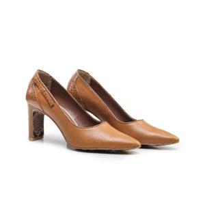 کفش رسمی زنانه A-8018 خردلی