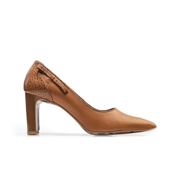 کفش زنانه A-8018 خردلی