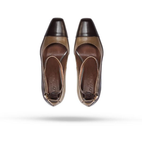 کفش رسمی A-8021 کرم