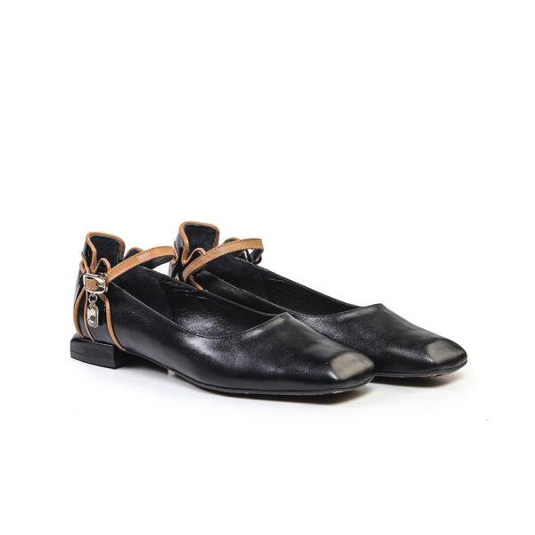 کفش کالج و اسپرت زنانه A-8019 مشکی