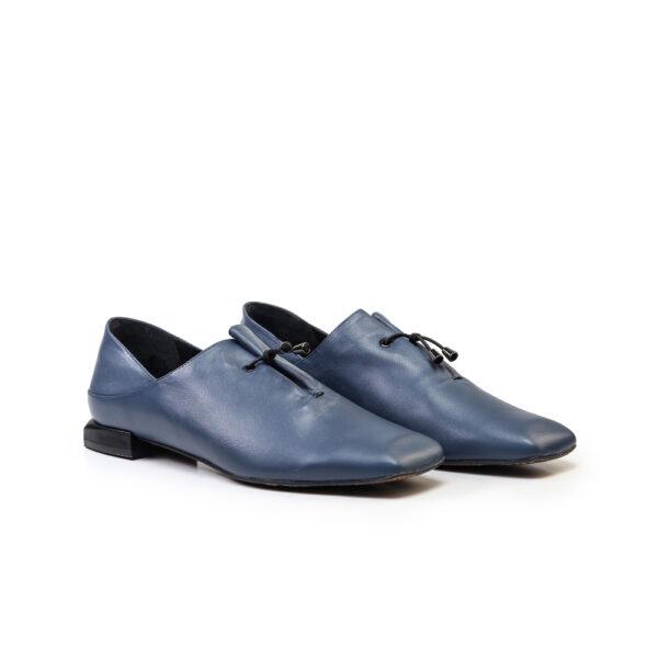 کفش کالج و اسپرت زنانه A-8020 آبی کلاسیک