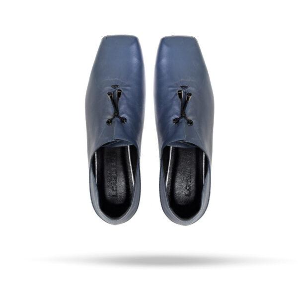کفش کالج زنانه A-8020 آبی کلاسیک