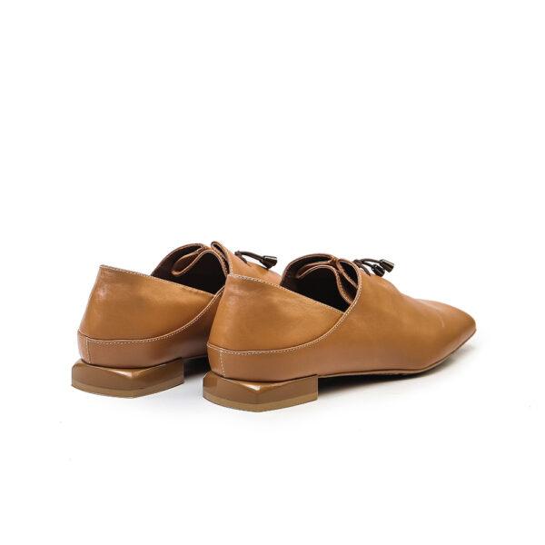 کفش کالج و اسپرت زنانه A-8020 خردلی