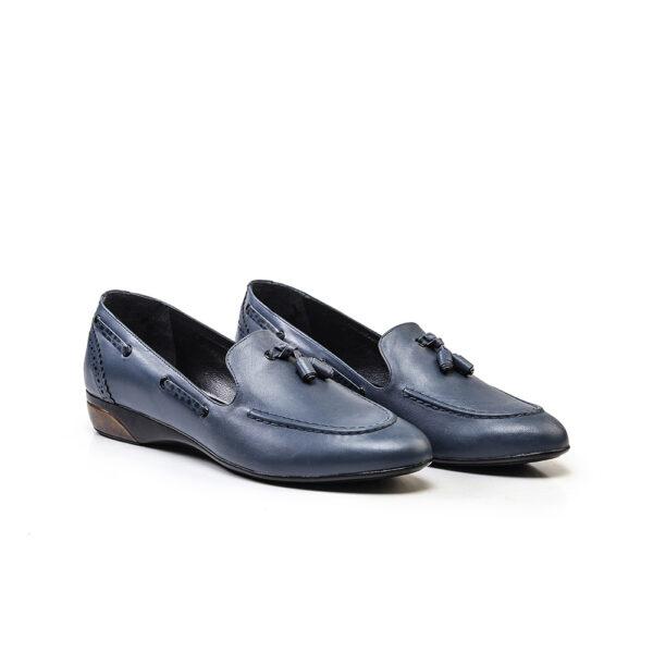 کفش اسپرت و کالج زنانه 8016 آبی کلاسیک