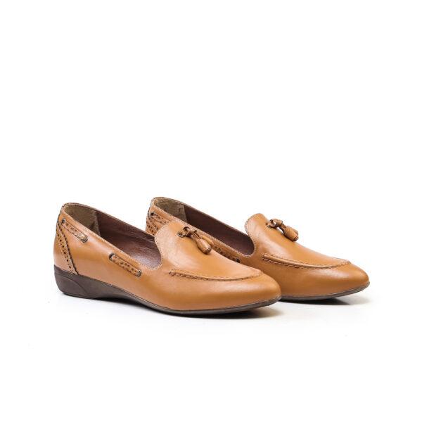 کفش اسپرت و کالج زنانه 8016 خردلی