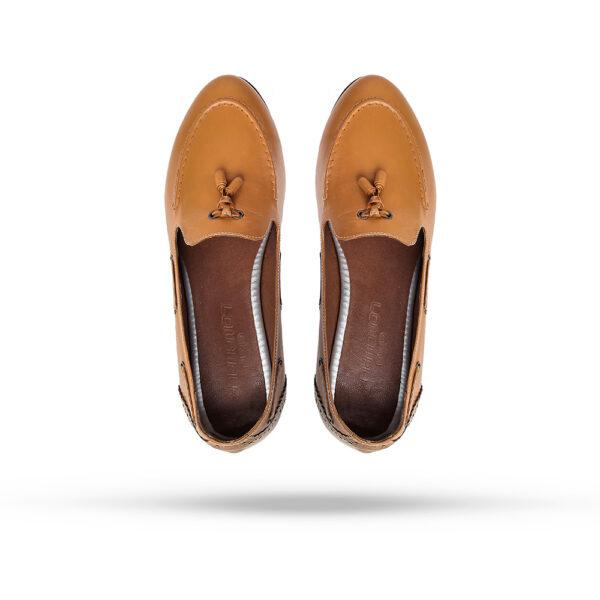 کفش اسپرت زنانه 8016 خردلی