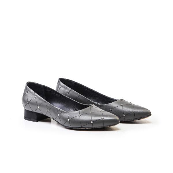 کفش رسمی و اسپرت و کالج زنانه 8017 طوسی