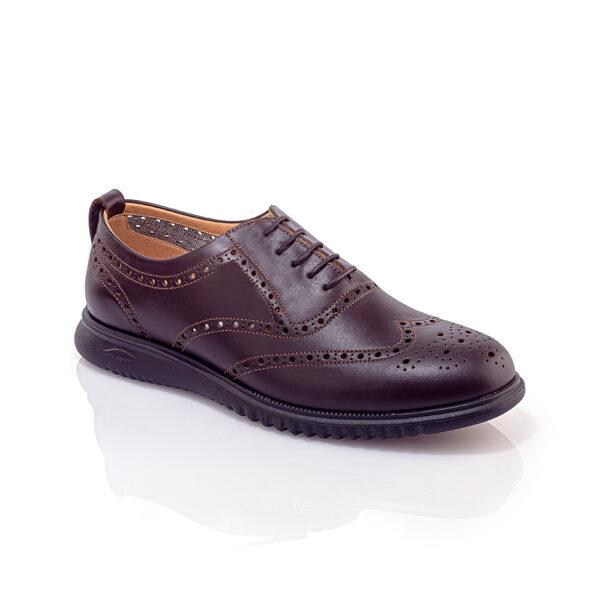 کفش اسپرت مردانه سامر قهوهای