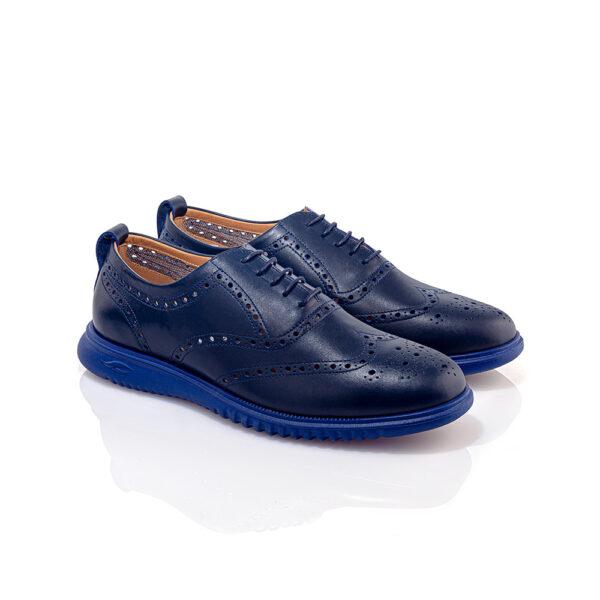 کفش تابستانه و اسپرت مردانه سامر سرمه ای
